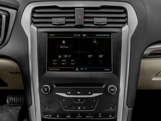 2016 Ford Fusion Titanium Hybrid Charleston