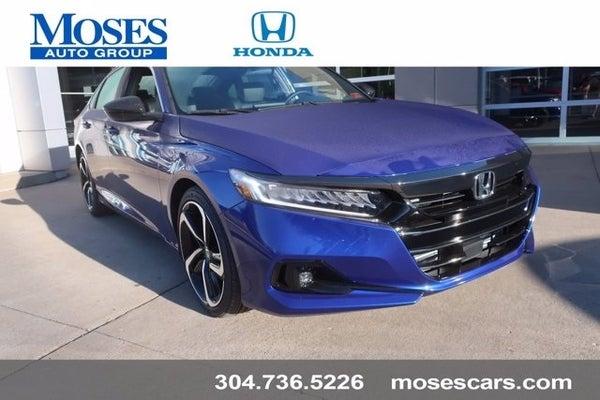 2021 Honda Accord Sport St Albans Wv Teays Valley Huntington Charleston West Virginia 1hgcv1f38ma008600